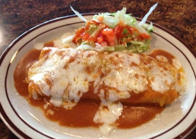 Mexican food is served 7 days per week.