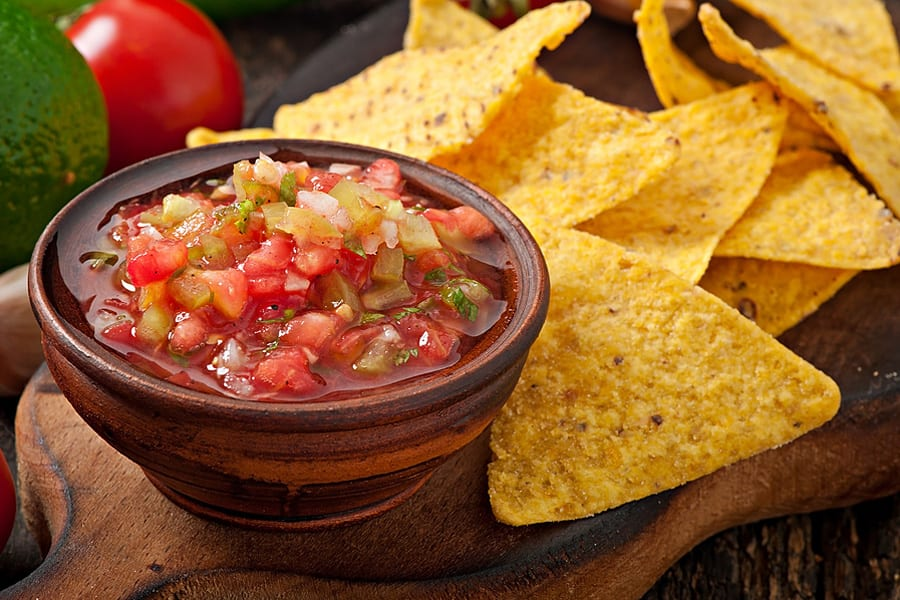 Every party needs dip so here is a Mexican Salsa recipe.