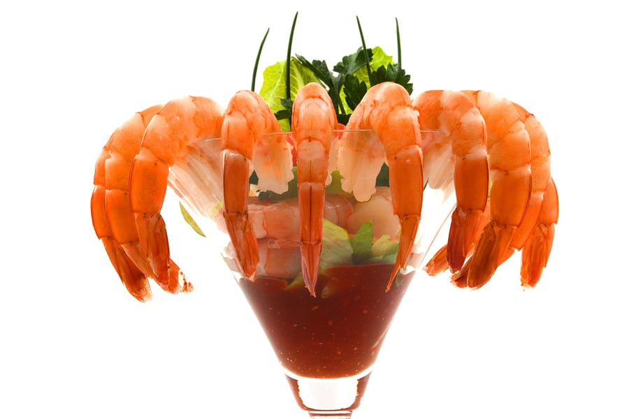Shrimp cocktail can be a part of our Mexican food catering.