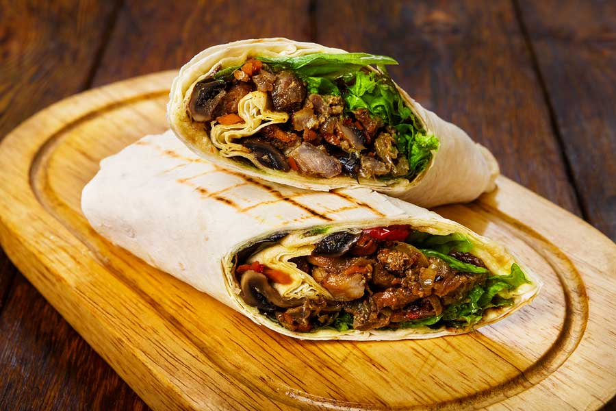 Burritos Hot and Spicy for Any Meal or Parties